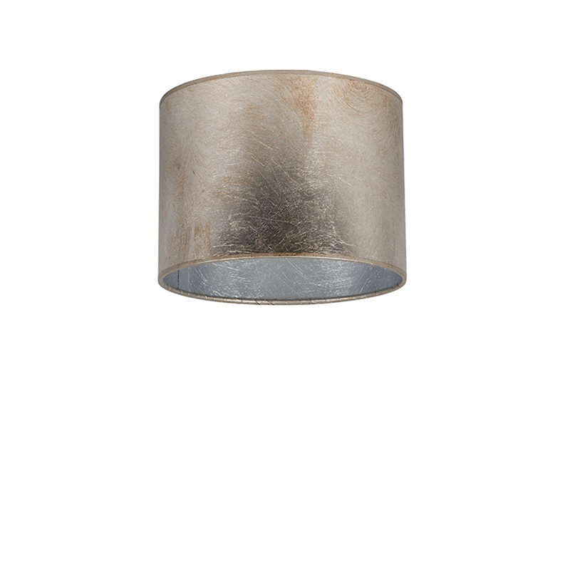 Kap 20/20/15 cilinder zilverbruin
