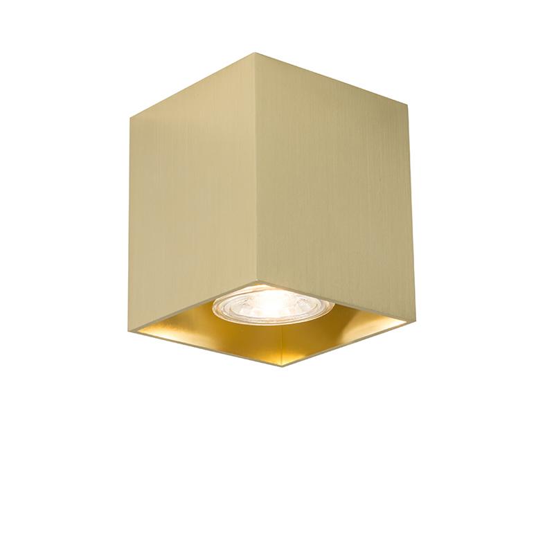Moderne spot goud - Qubo 1