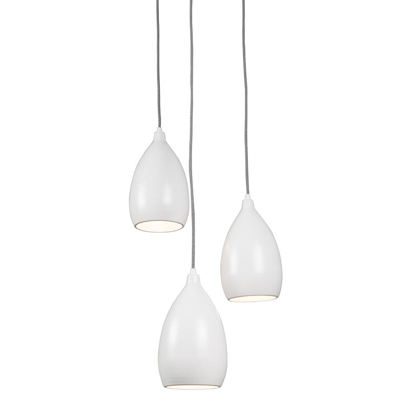 Hanglamp Ajaccio 3 C wit