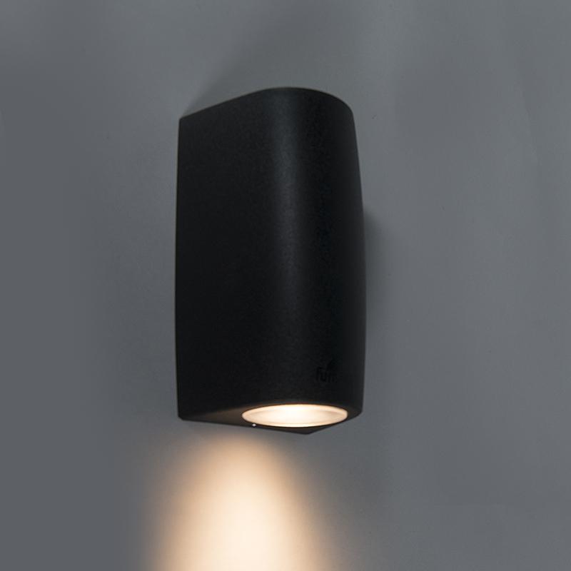 Wandlamp Marta 1 zwart
