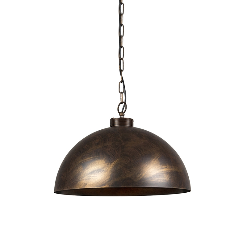 Industriele hanglamp roestbruin 50 cm - Magna Classic