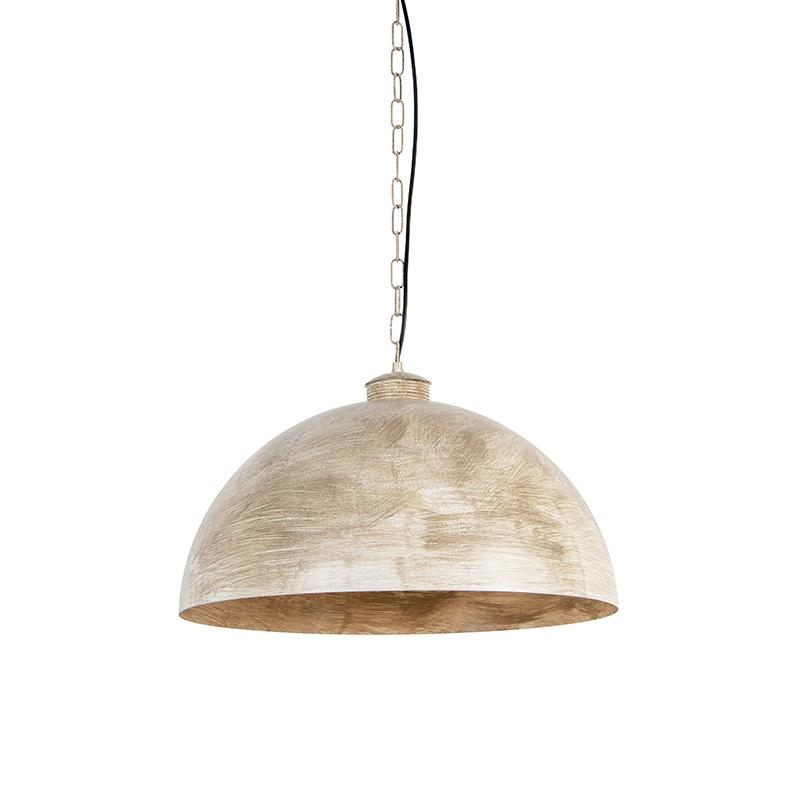 Przemysłowa lampa wisząca szarobrązowa 50cm - Magna Classic