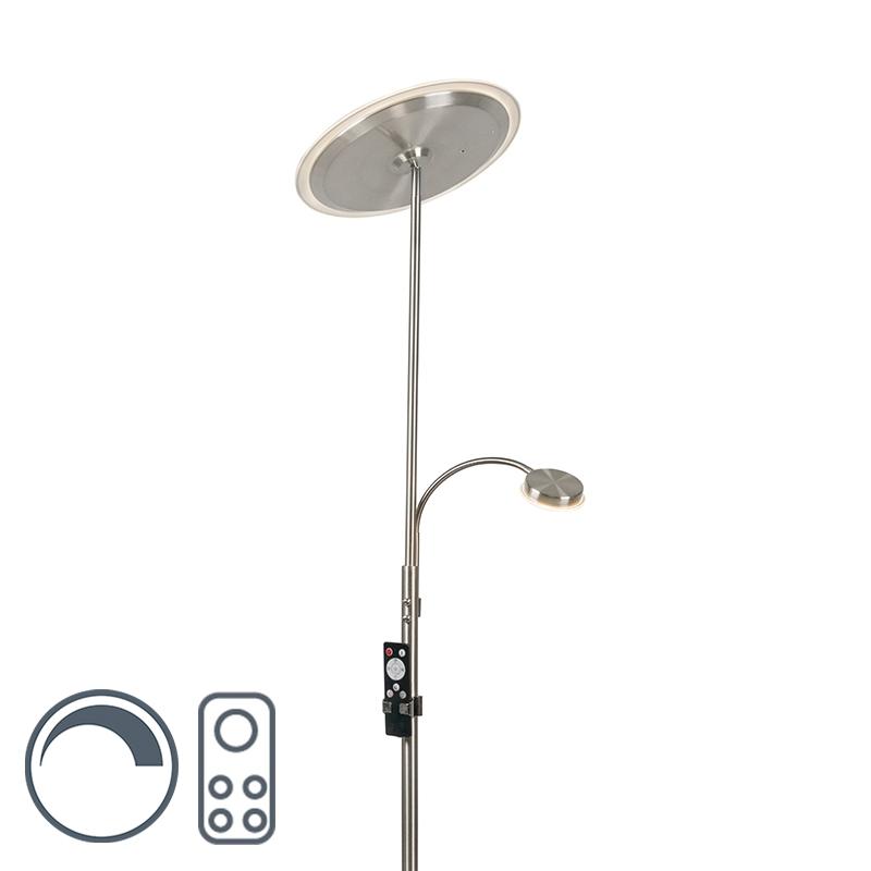 Vloerlamp Micra LED rond dim to warm