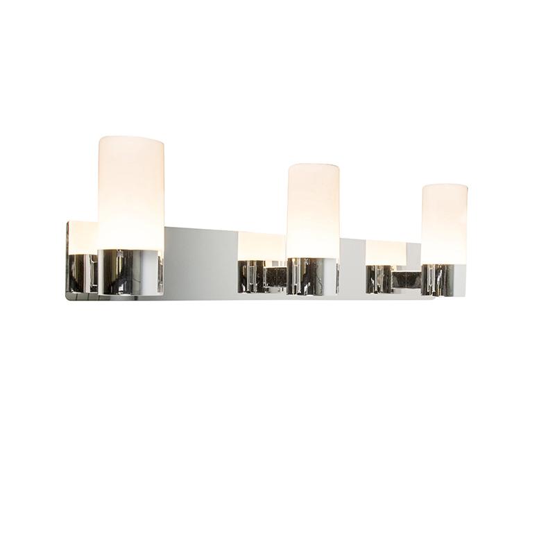 Badkamer wandlamp Trees 3 LED chroom
