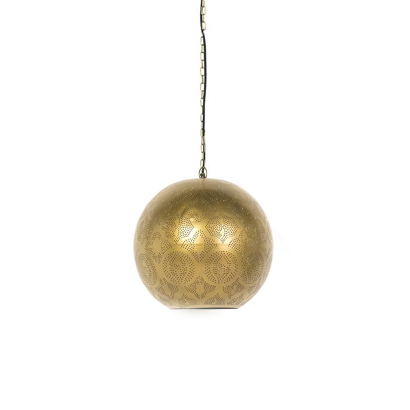 Oosterse hanglamp goud - Zayn 2