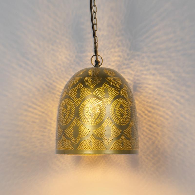 Oosterse hanglamp goud - Zayn 3