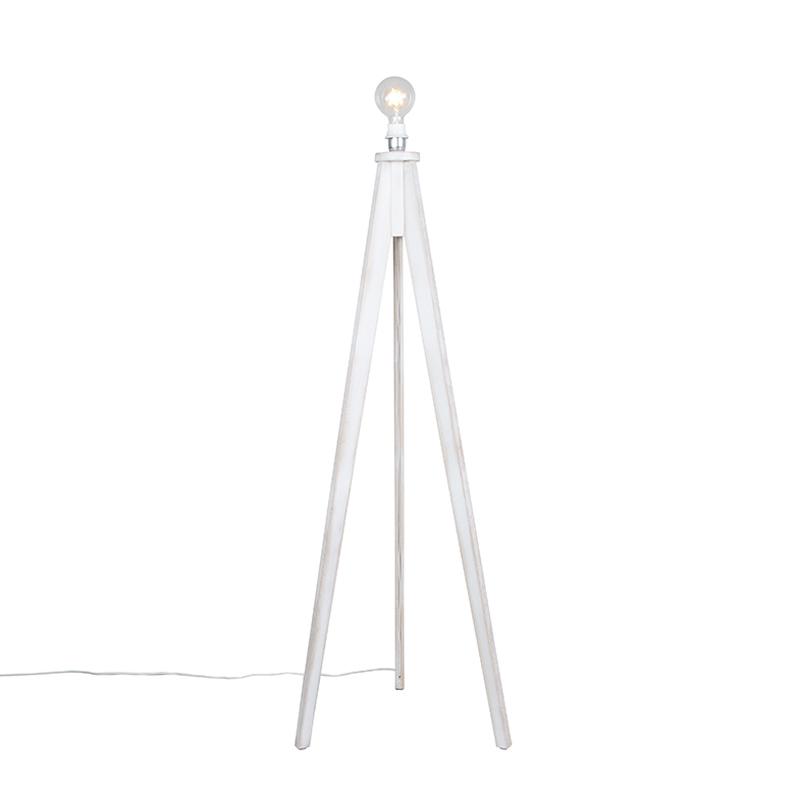 Vloerlamp Tripod Classic wit
