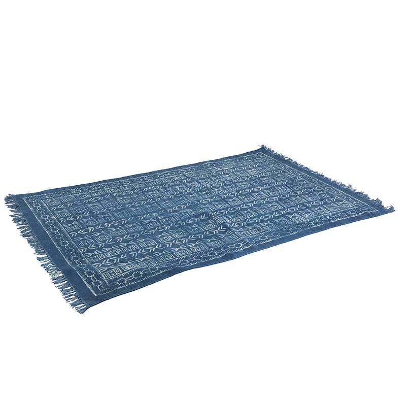 Oosters vloerkleed 120x190cm blauw - Varanasi