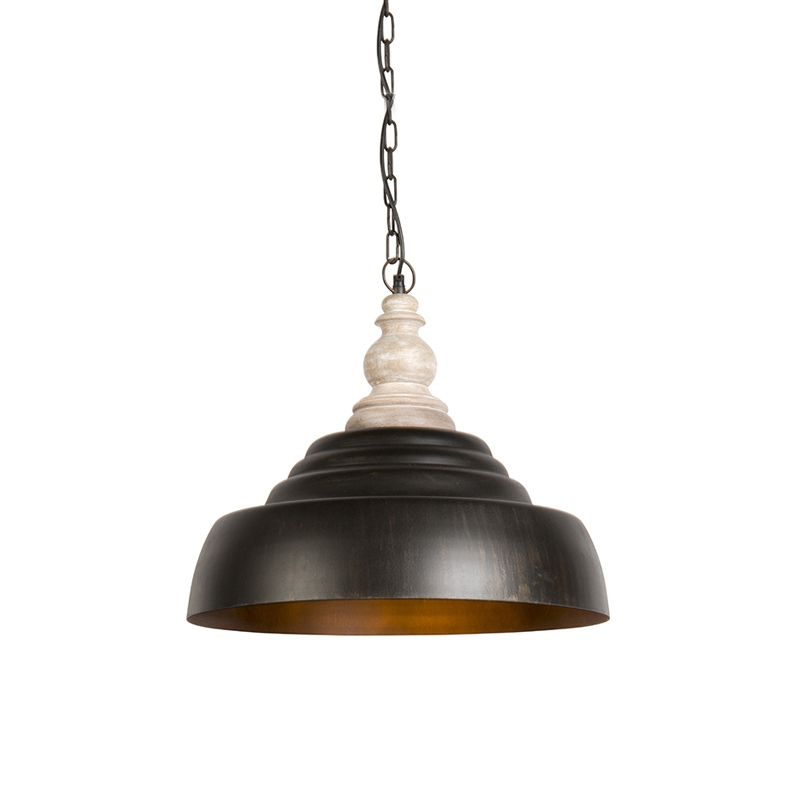 Hanglamp Trina roestbruin