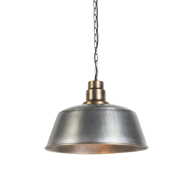 Hanglamp Kanan blank staal