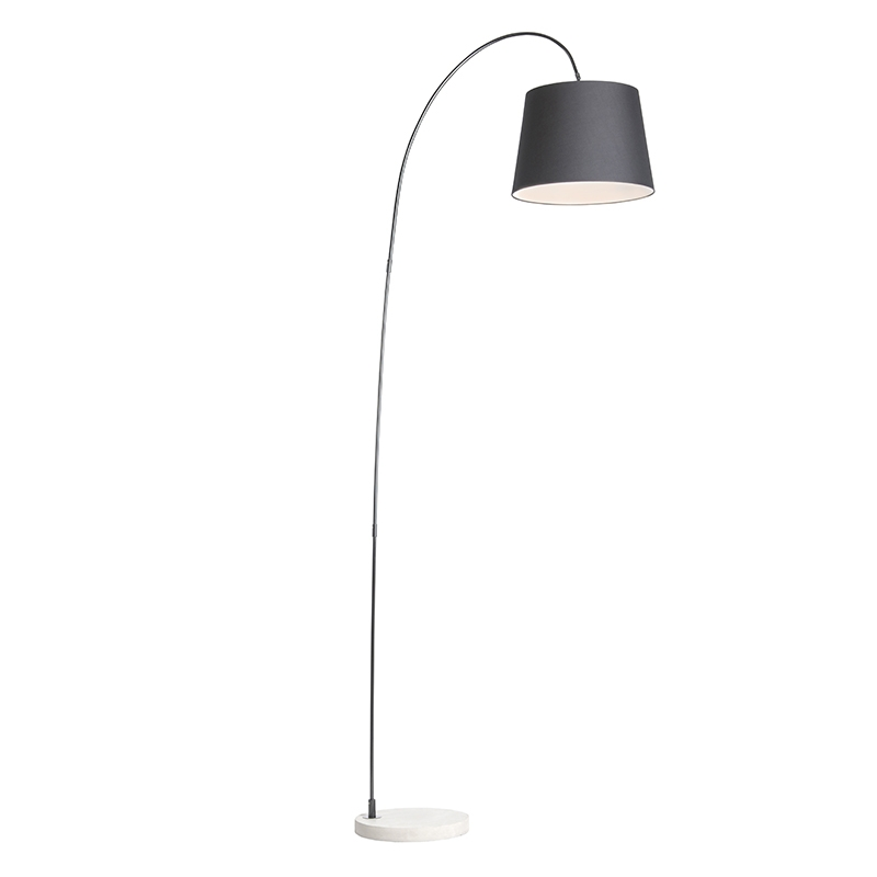 Nowoczesna lampa łuk czarna - Bend
