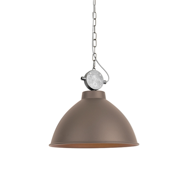 Industriële hanglamp bruin - Anterio 38