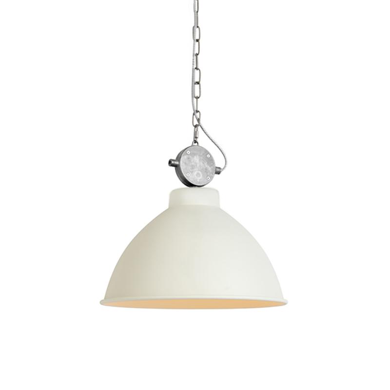 Set van 2 landelijke hanglampen wit - Anterio 38