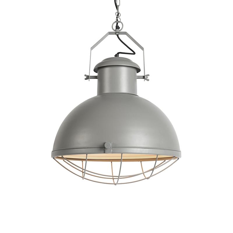 Przemysłowa lampa wisząca szara - Silnik