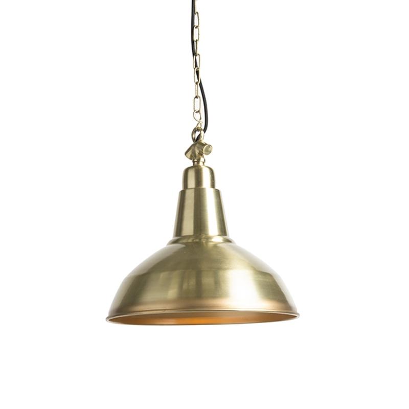 Lampa wisząca w stylu art deco złota / mosiądz - Goliath duży
