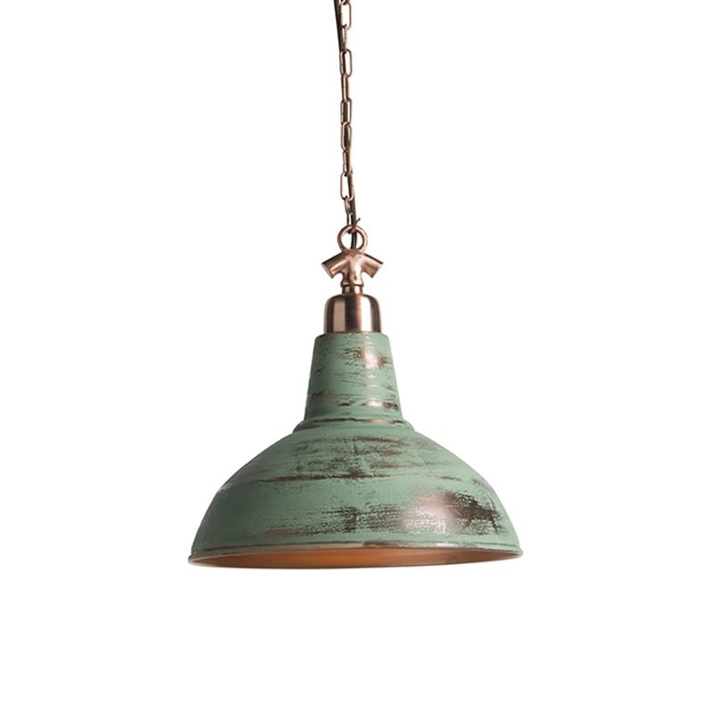 Industriële hanglamp antiek koper - Goliath