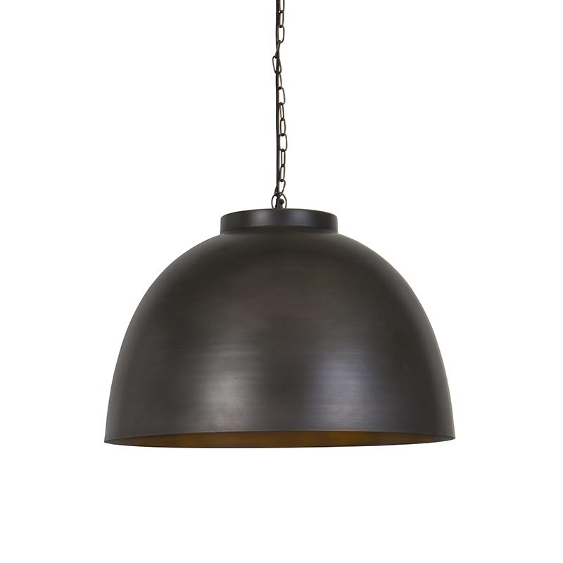 Przemysłowa lampa wisząca antyczny brąz 60 cm - Hoodi