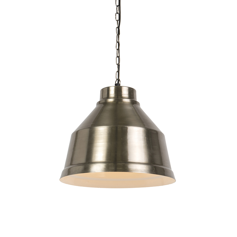 Industriele hanglamp staal - Next