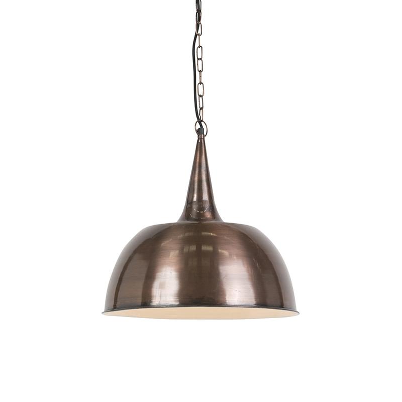 Industriele hanglamp koper - Loft