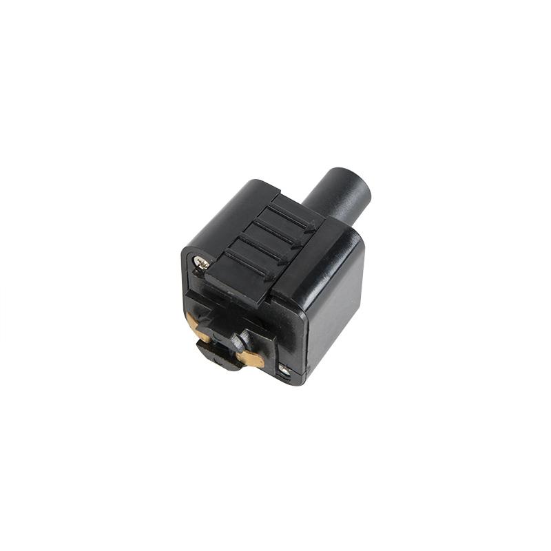 Bild av 3-fas samlingsskena adapter 'Rail' Moderna svart/polyester Inomhus