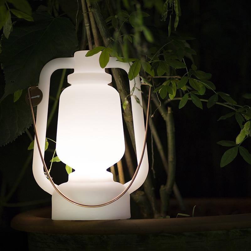 Tafellamp Storm wit