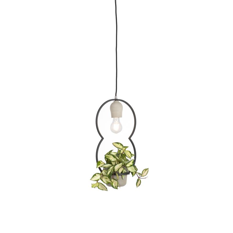Landelijke hanglamp beton - Fauna C