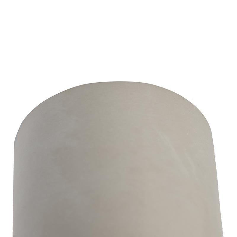 Landelijke ronde plafondspot beton - Deep