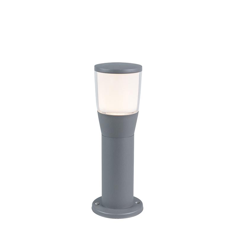 Moderne buitenlamp grijs 35cm incl. LED - Mona