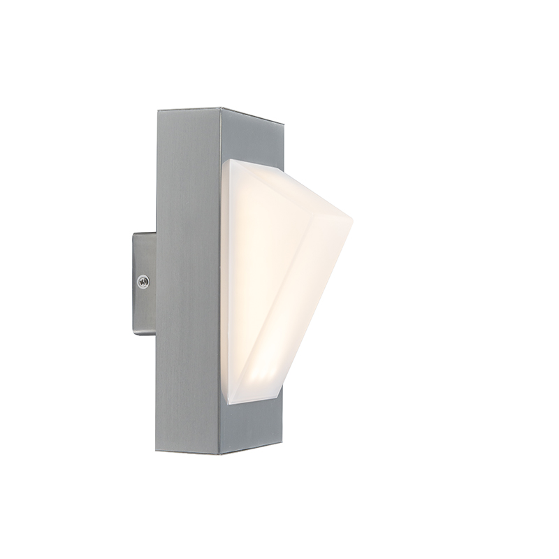 Moderne buitenlamp wand staal incl. LED - Tori