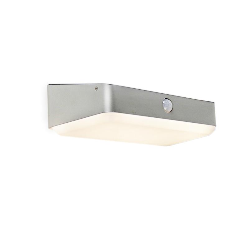 Buitenwandlamp incl. LED op solar met bewegingssensor - Blox
