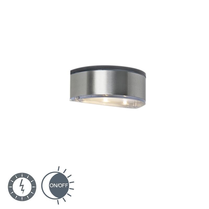 Buitenlamp Coolio LED op zonne-energie aluminium IP44