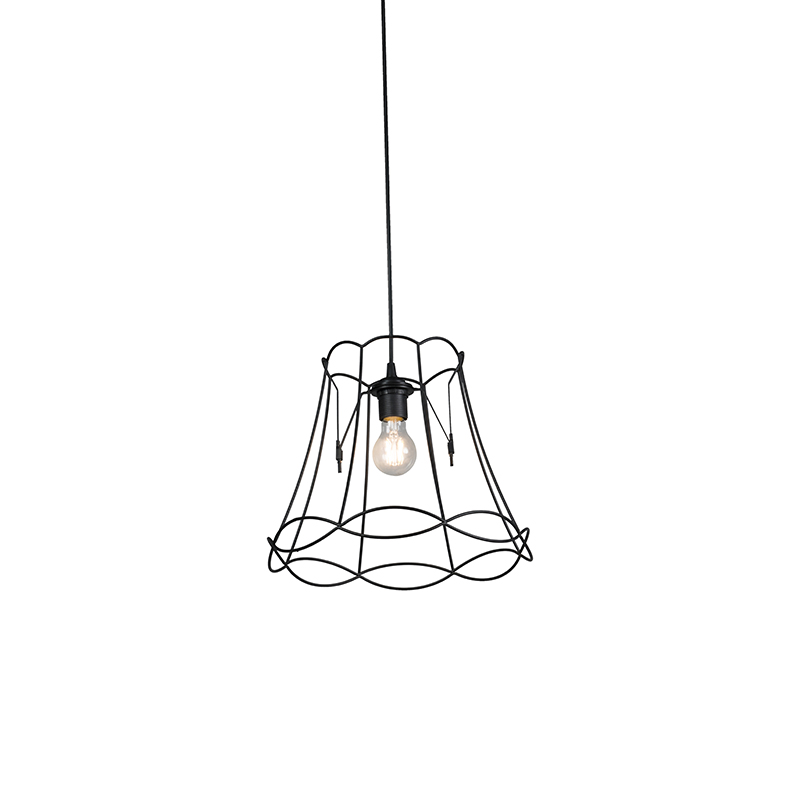 Hanglamp Granny Frame 35cm zwart