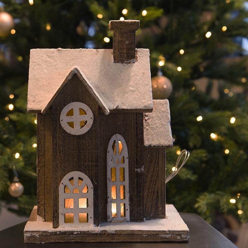 Kersthuisje Woning LED