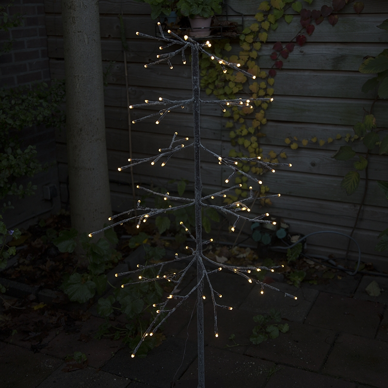 Kerstverlichting dennenboom Snow LED warm wit 1,2 meter
