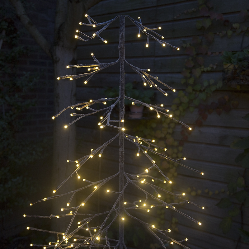 Kerstverlichting dennenboom Snow LED warm wit 1,65 meter