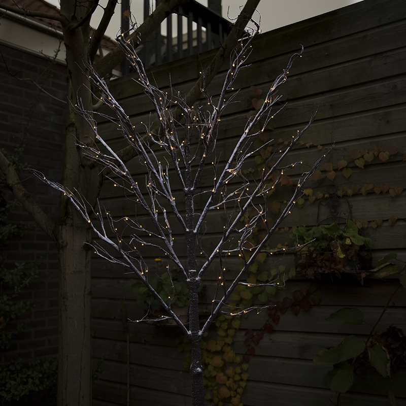 Kerstverlichting Leiboom Snow LED warm wit 2 meter