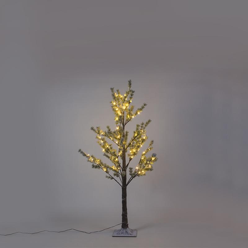 Kerstverlichting dennenboom Snow LED warm wit 1,5 meter