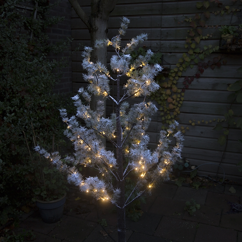 Kerstverlichting dennenboom Snow LED warm wit 1,5 meter