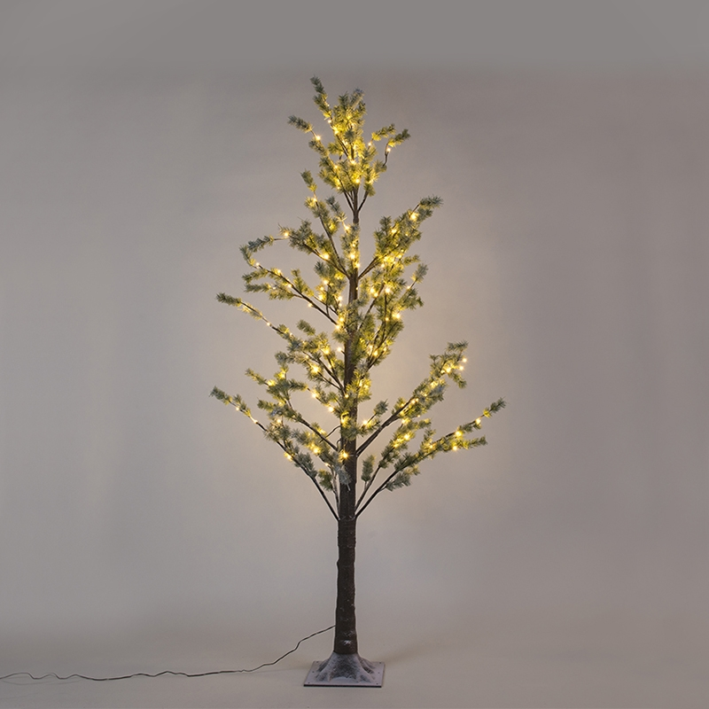 Kerstverlichting dennenboom Snow LED warm wit 2,1 meter