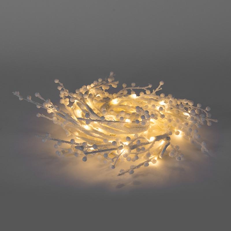 Oświetlenie świąteczne łańcuch świetlny Tak LED barwa ciepło biała 1,5 m