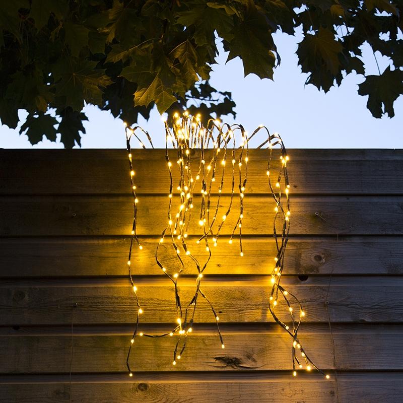 Kerstverlichting Treurwilg LED warm wit 1 meter
