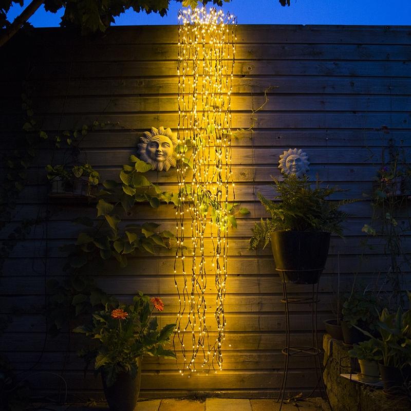 Kerstverlichting Treurwilg Led Warm Wit 3 Meter