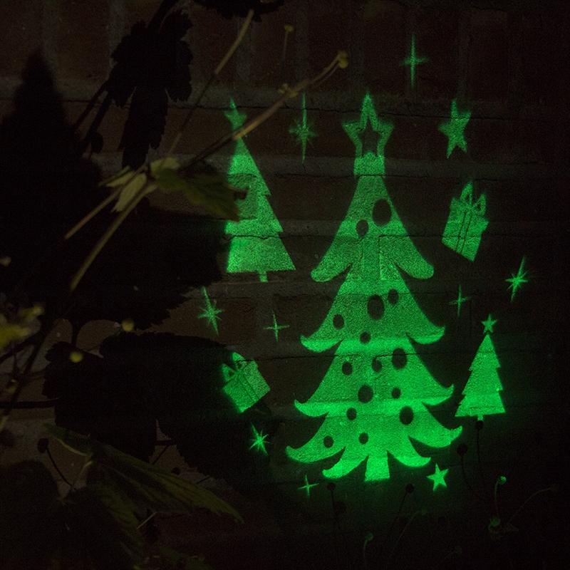 Kerstverlichting Laser projector LED groen Kerstboom