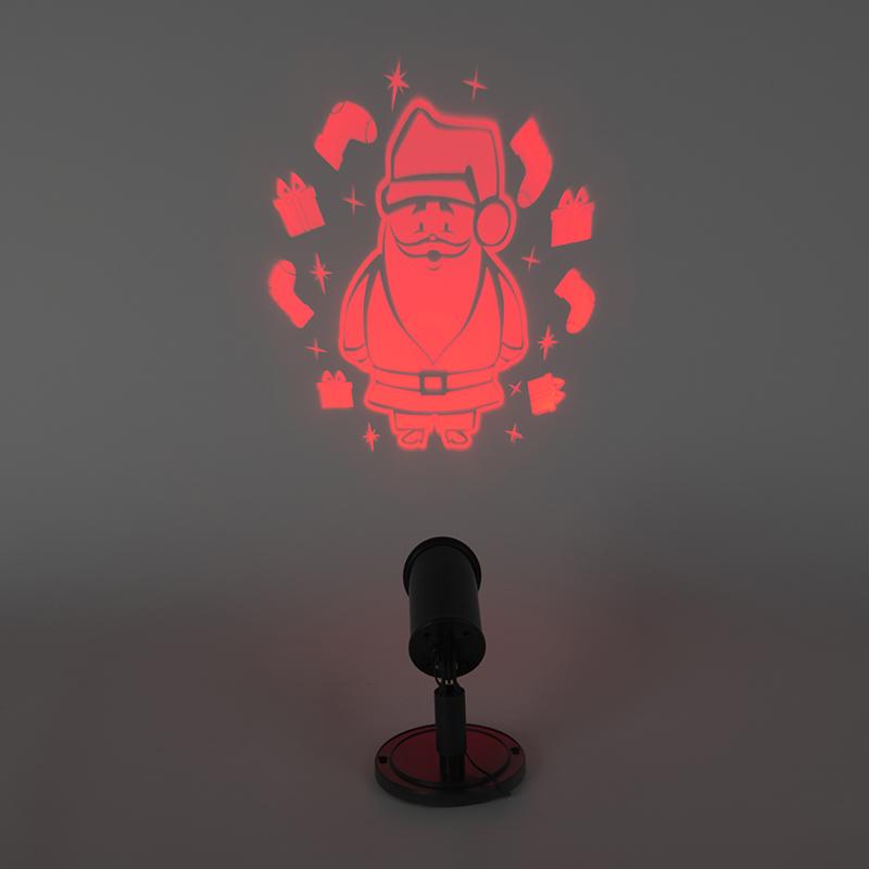 Projektor bożonarodzeniowy LED Kerstman czerwony