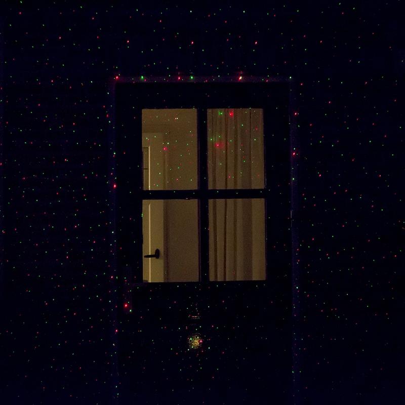 Kerstverlichting Laser projector LED rood met groen 9 standen