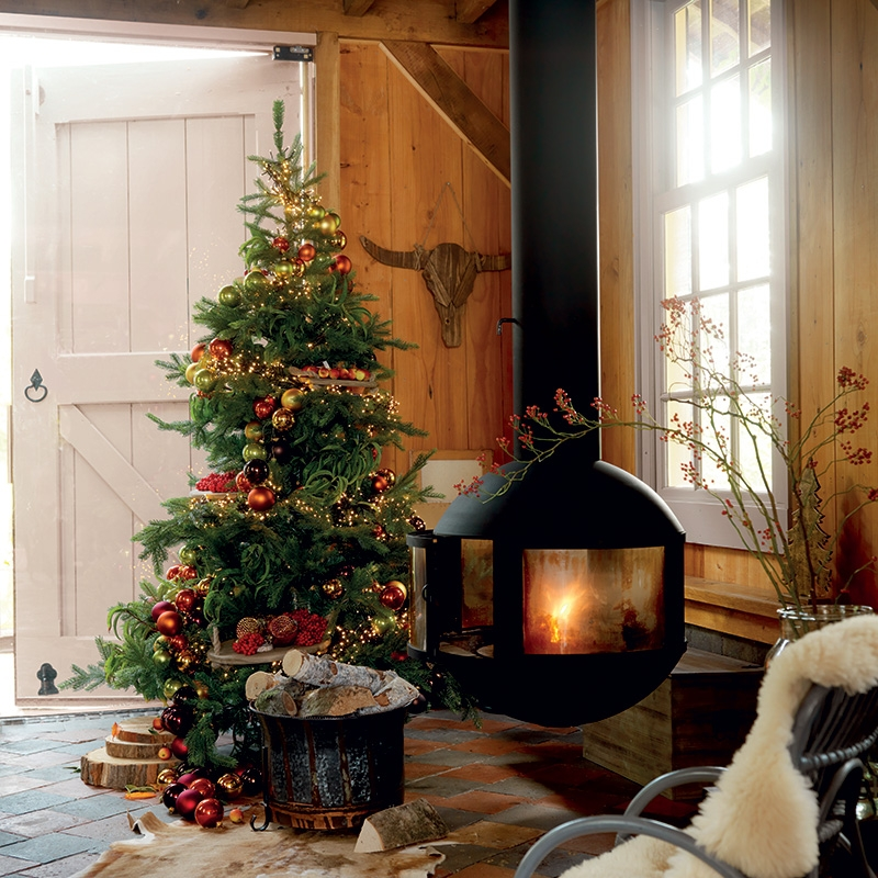 Kerstboom 300 LED warm wit 180cm