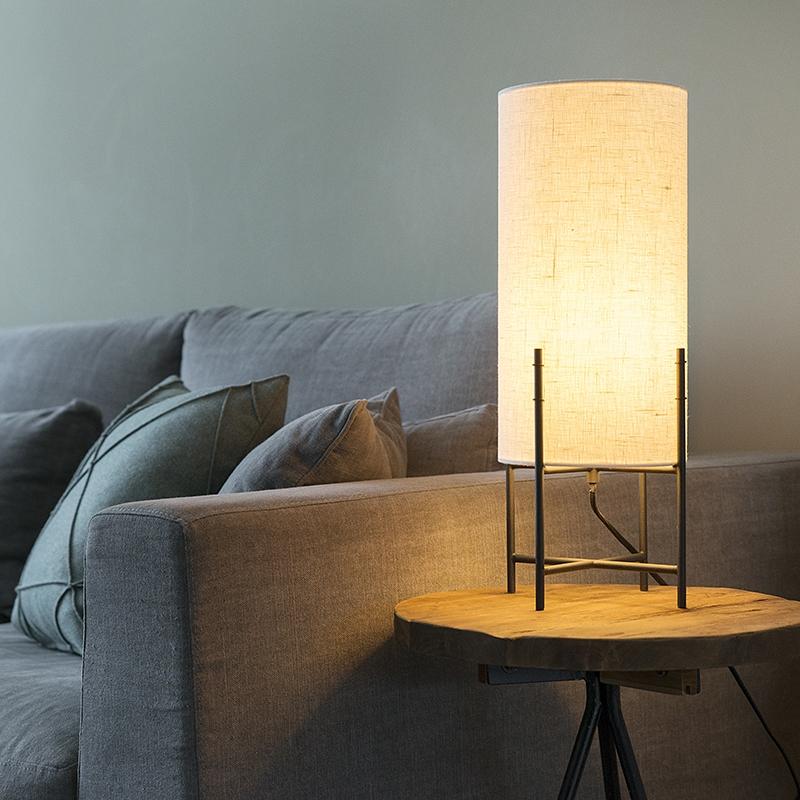Tafellamp Rich off white