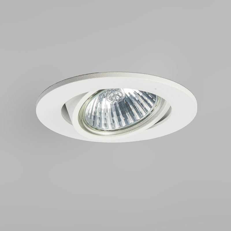 Set of 10 Recessed Spotlight White - Cisco