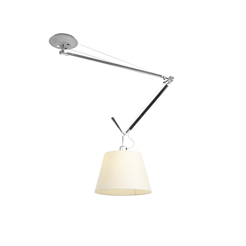 Hanglamp met kap - Artemide Tolomeo Sospensione Decentrata