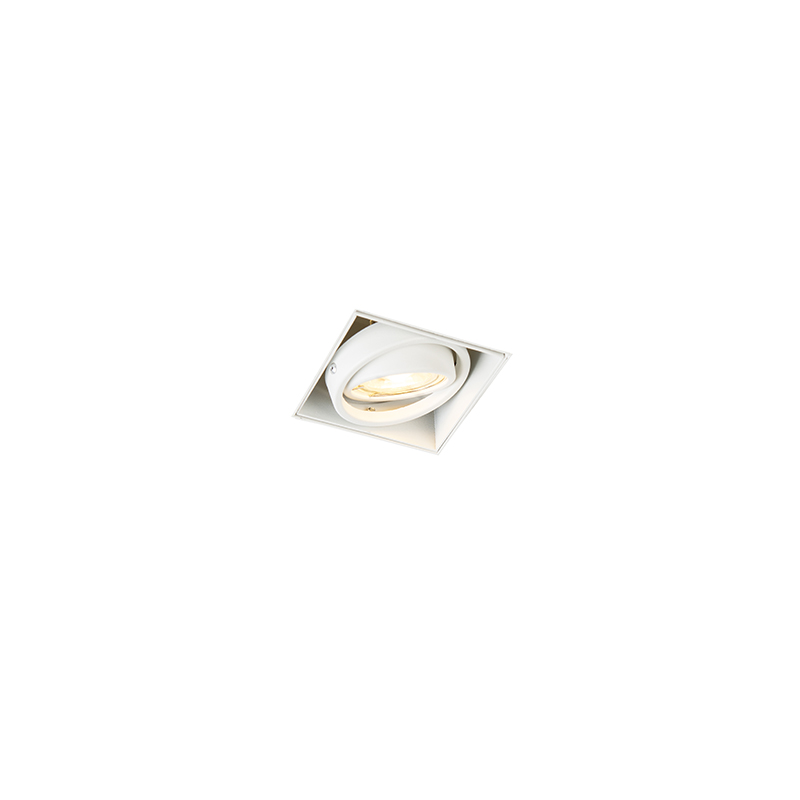 Moderne Inbouwspot Wit Gu10 Trimless - Oneon 1